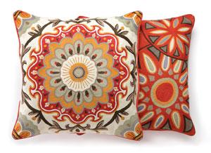 Throw Pillows Homesense : Global village East Coast Living
