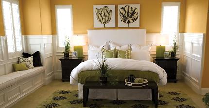Dulux Bedroom - Praire Grass